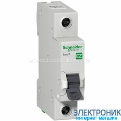 Автоматический выключатель Schneider-Electric Easy9 1P 6A C