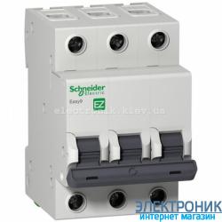 Автоматический выключатель Schneider-Electric Easy9 3P 6A C