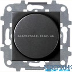 Светорегулятор повор. 60-600Вт накал., галог. ABВ Zenit антрацит