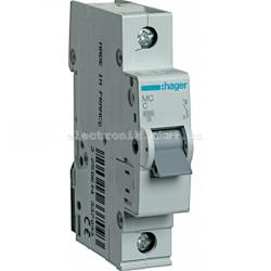 Выключатель автоматический Hager 1P C 10А MC110A