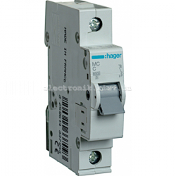 Выключатель автоматический Hager 1P C 50А MC150A