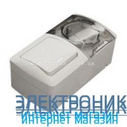 Выключатель с подсветкой + Розетка с заземлением