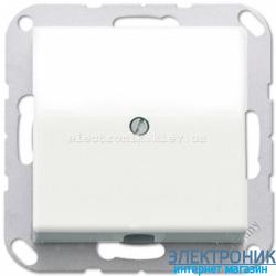 Вывод кабеля с суппортом JUNG Eco Profi Белый