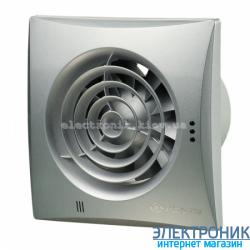Вентилятор на подшипниках Вентс 100 Квайт Алюминий, оборудован обратным клапаном