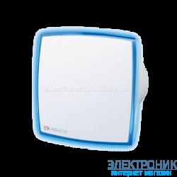 Вентилятор Вентс 125 ЛД Лайт. С синей  светодиодной подсветкой.