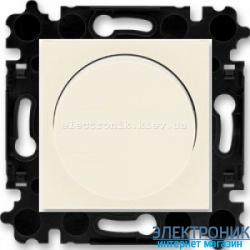 Cветорегулятор 2-400Вт светодиодный LED-Dimmer ABB Levit слоновая кость/белый