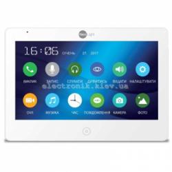 Цветной видеодомофон NeoLight MEZZO HD с 7 дюймовым экраном Белый