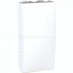 Заглушка Unica 1 модуль белая