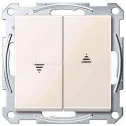 Выключатель Жалюзи Schneider Electric Merten System M бежевый