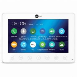 Цветной видеодомофон NeoLight Omega +HD с 7 дюймовым экраном Белый