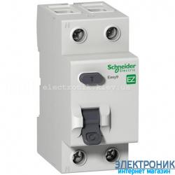 Устройство защитного отключения (УЗО) Schneider-Electric Easy9 2P 25A 30мA