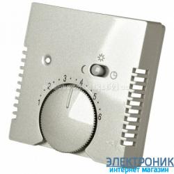 Терморегулятор для теплого пола, 10А от 5 до 30СABB Basic 55 шампань