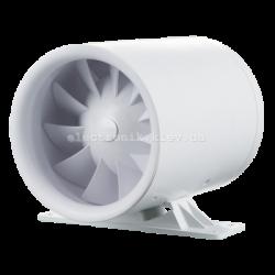 Вентилятор канальный Вентс 125 Квайтлайн-к Дуо (с однофазным двухскоростным мотором и обратным клапаном)
