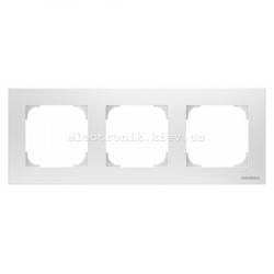 Рамка тройная ABB SKY белый