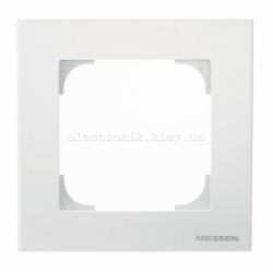 Рамка одинарная ABB SKY белый