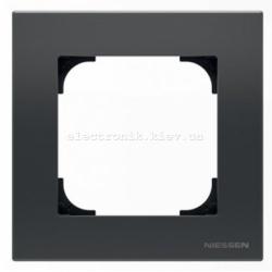 Рамка одинарная ABB SKY черный бархат