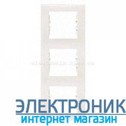 Рамка Schneider-Electric Sedna 3-поста вертикальная слоновая кость