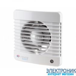 Вентилятор вытяжной Вентс 100 МВ, оборудован шнурковым выключателем.
