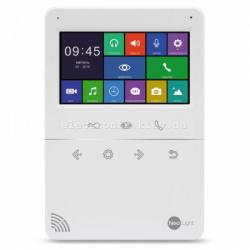 Цветной видеодомофон Neolight Tetta+ с 4,3 дюймовым экраном Белый