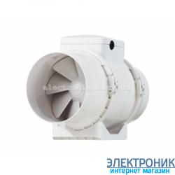 Канальный Вентилятор Вентс ТТ 100 Т с установленным таймером задержки