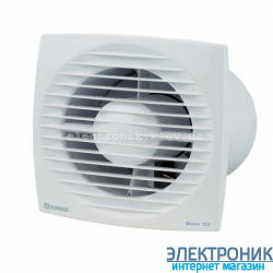 BLAUBERG BRAVO 100 H - вытяжной вентилятор с датчиком влажности