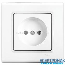 Розетка VIKO Linnera Белая (90400007)