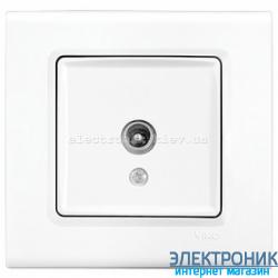 Розетка ТВ проходная VIKO Linnera Белая (90400060)