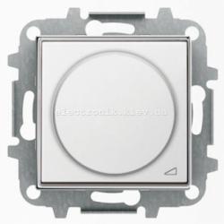 Диммер поворотный для LED лампочек ABB SKY белый
