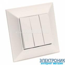 Neoline выключатель 3-кл. кремовый