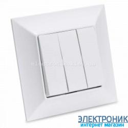 Neoline выключатель 3-й  белый