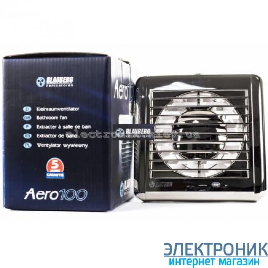 BLAUBERG AERO Chrome 125 - вытяжной вентилятор