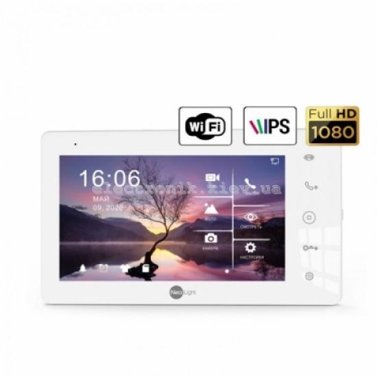 Цветной видеодомофон NeoLight Zeta+ HD WF